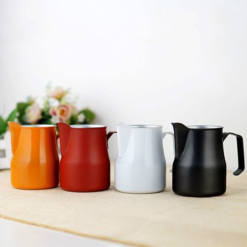 Frothing Jug Espresso Coffee Pitcher Barista Craft Coffee Latte Milk Frothing Jug Stainless Steel Mug
