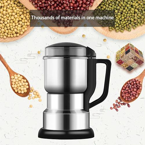 Electric Coffee Grinder Multifunctional Kitchen Cereals Nuts Beans Spices Grains Grinding Machine Home Coffe Grinder Machine