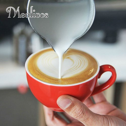 Mealivos Stainless Steel Espresso Coffee tools Pitcher Craft Latte Milk Frothing Jug