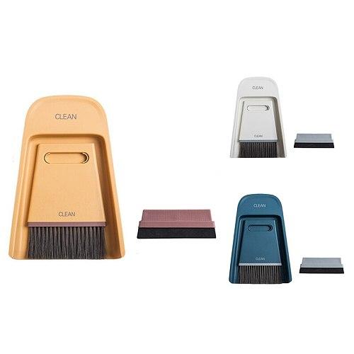 Bar Cleaning Brush Dustpan Set Multipurpose Broom Dustpan Desktop Coffee Grinder Cleaning Brush Mini Brush