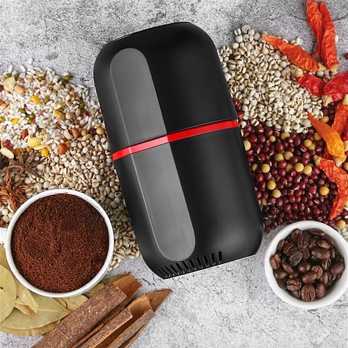 Mini Electric Coffee Grinder Multifunction Salt Pepper Grinder Household Powerful Beans Herbs Spice Nuts Mill Machine Kitchen