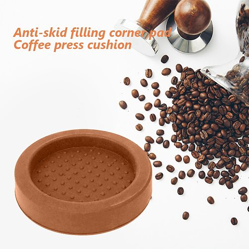 1pcs Nice Espresso Coffee Tamper Silicone Round Tamper Mat (without coffee tamper) Diameter Great