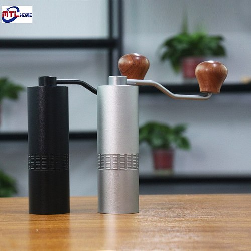 Manual Coffee Grinder Coffee Maker High nitrogen steel grinding core 304 Stainless Steel Hand Burr Mill Grinder кофемолка ручная