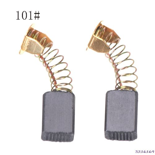 2Pcs Electric Drill Carbon Brush Spare Part For DEWALT /for BOSCH/for MAKITA ElectricTool 6X10X15mm-101#