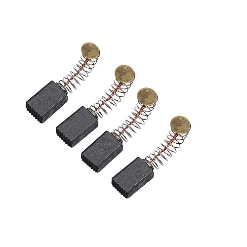 10pcs Mini Drill Electric Grinder Replacement Carbon Brushes Spare Parts For Electric Motors Rotary Tool