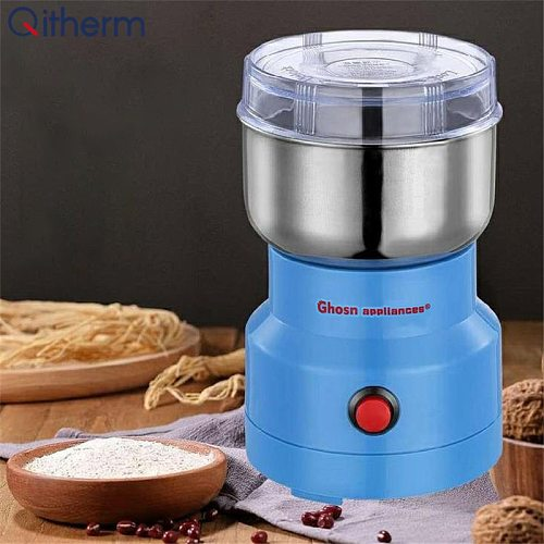 110V/220V Electric Coffee Bean Grinder Home Bean Spice Salt Pepper Herbs Nuts Spices Mill Grinder Multifunction Smash Machine