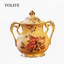 Yolife 350 ml Ceramics Sugar bowl  Salt Condiment Jars for Kitchen Tool