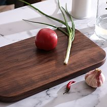 Black Walnut Whole Wood Kitchen Solid Wood Rootstock Fruit Cutting Board Lacquerless wooden chopping board kitchen board