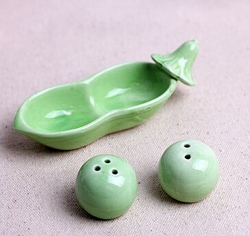 100sets/lot Pea Salt & Pepper Shaker Wedding Favors And Gifts For Guests Souvenirs Decoration Event & Party Supplies