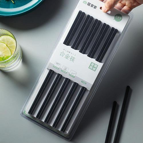 10Pair High Quality Chopsticks Non-Slip Traditional Natural Chopsticks Sushi Chop Sticks Kitchen Restaurant Tableware Reusable