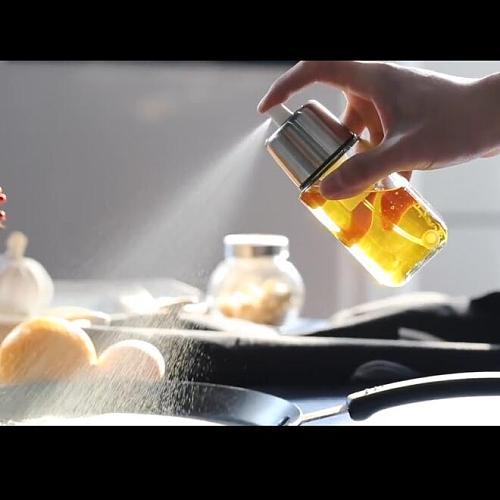 Air pressure Oil Spray Bottle BBQ Baking Olive Oil Spray Bottle Oil Vinegar Spray Bottles Water Pump Gravy Boats Grill Sprayer