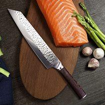 9  Fishing Knife Professional Japanese Chef Knife Forged Kiritsuke Meat Cleaver Vegetables Slicing Salmon Sashimi Kitchen Knife