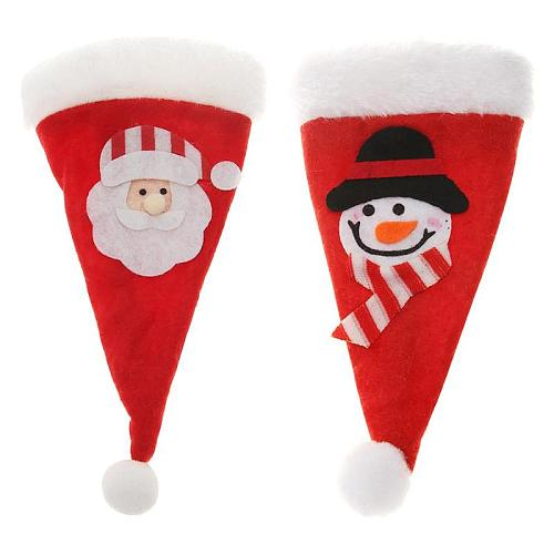 Christmas decorations for home nice non-woven fabric Christmas knife fork bag home Christmas Dinner Party Decoration Kitchen