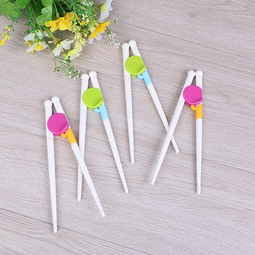 1Pair  Chopsticks For Right Hand Home Children's Products Kitchen tools Chopsticks Kids Baby Learning Helper Training Children