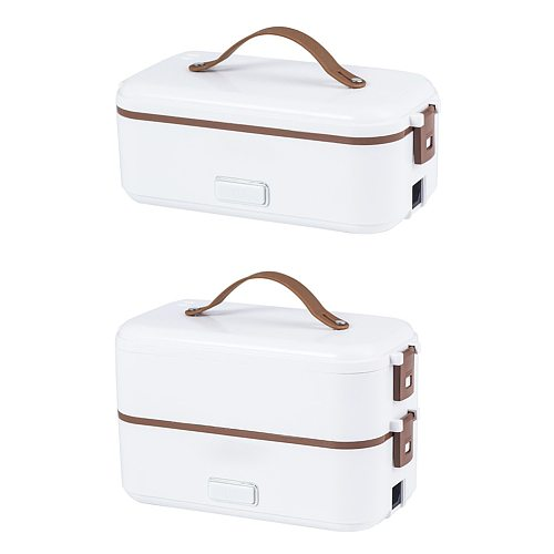 300W 220V Electric Lunch Box Food Heater Container Portable Stainless Steel Warmer for Student Office Worker dropshipping