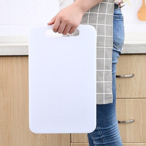 Moldproof kitchen household fruit polyethylene resin plastic large cutting chopping food board knife mildew proof blocks