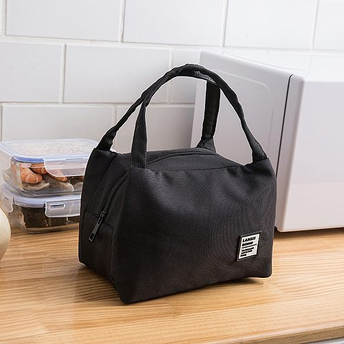 Big Lunch Bag For Portable Insulated Women Kids Men Lunch Bags Insulated Canvas Box Tote Bag Thermal Cooler Food Lunch Bags #30