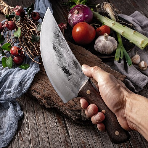 Handmade Stainless Steel Kitchen Boning Knife Fishing Knife Meat Cleaver Butcher Knife Chef Kitchen Knives Forged In Fire Knives