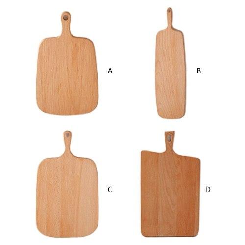 Irregular Wooden Cutting Board Bread Plate Dessert Tray Chopping Board Decoration Placement Plate Art Furnishing Mold