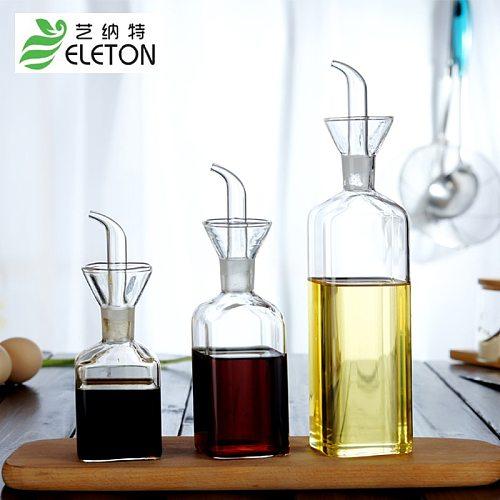 Gravy Boats oil dispenser pour oil pot glass sauce bottle oil pot with heat glass vinegar boats gravy boat oil container