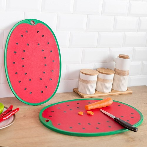 Watermelon Shaped Chopping Board, Vegetable Cutting Board, Meat Cutting Size, Pp Kitchen Utensil