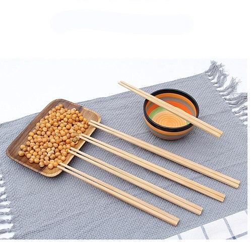 5 pairs Super Long Chopsticks Wooden Chopsticks Cook Noodles Deep Fried Hot Pot Chinese Style Food Sticks Kitchen Special Tools