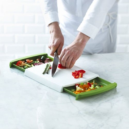 Chop n Clear Cutting Board Multifunctional Chopping  Blocks  Drawer type Chopping Board  Chopping Blocks