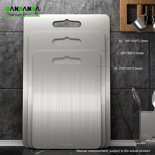 PANPANDA Titanium chopping block mould prevention board household cutting board fruit chopping board 2mm