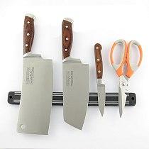 33cm Magnetic Kitchen Knife Scissor Holder Tools Chef Rack Wall Mounted Strip Kitchen Storage Storage Rack Kitchen Tools