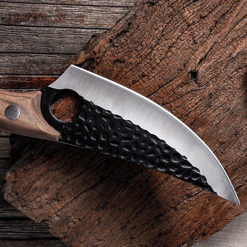 CHUN Slaughtering Cutting Serbian Cleaver High-end Kitchen Chopping Boning Knife Outdoor Camping Scimitar Butcher Chopper Tools