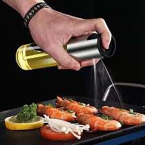 Kitchen Olive Oil Sprayer Bottle Water Pump Sauces Boat Grill BBQ Sprayer Kitchen Tools Oil Dispenser
