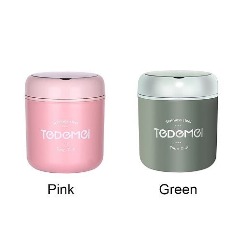 School Office Thermal Insulated Outdoor Travel Lunch Box Leakproof Food Container Bento Stainless Steel Picnic Soup Kids Adults
