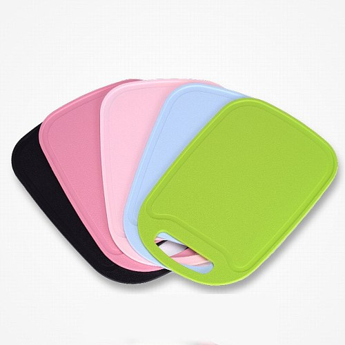 Plastic Cutting Board Foods Classification Boards Outdoors Camping Vegetable Fruits Meats Bread Cutting Chopping Blocks