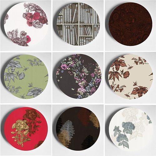 Wall Plate Milan Design Handcrafts Decoration Crafts Home Studio Living Room Decor Fashion Art Plate