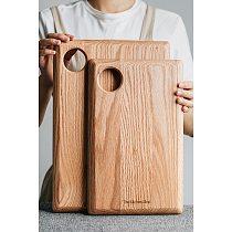 Thick Oak Cutting Board Wood Chopping Block Kitchen Board Food Tray Nordic Dessert Plate Serving Tray Toast Dessert Food Holder