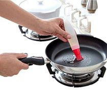 Hot Gravy Boats High Temperature Silicone Brush With Oil Bottle Set Can Not Afford Brush Kitchen Barbecue Tools