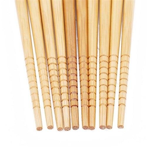 5 pairs of reusable chopsticks natural wood chopsticks Chinese style set handmade gift box hash sushi food stick tableware