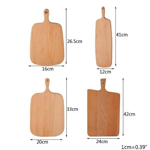 Irregular Wooden Cutting Board Bread Plate Dessert Tray Chopping Board Decoration Placement Plate Art Furnishing Mold Storage