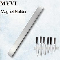 MYVI Magnetic Knives Holder Self-adhesive 50CM Length Stainless Steel Block Magnet Knife Stand For Kitchen Knives Kitchen Tool