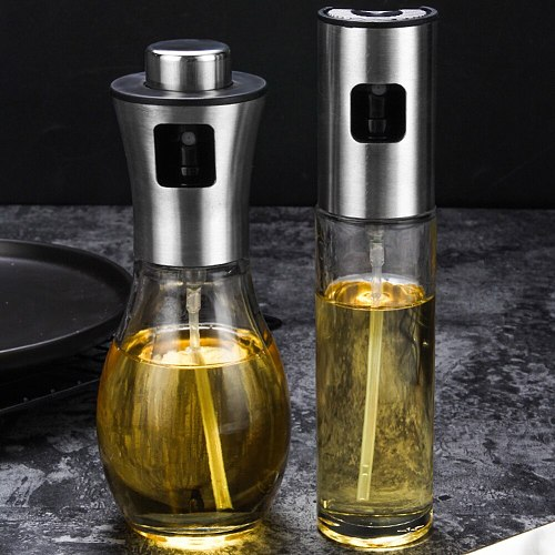 BBQ Baking Olive Oil Spray Bottle Oil Vinegar Spray Bottle Water Pump Gravy Boat Grill Sprayer Tool Kitchen Gadgets