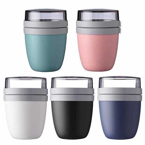 Lunch Cup Creative Portable Travel Preservation Bowl Outing Lunch Box Yogurt Nut Preservation Soup Cans Preservation Lunch Cup