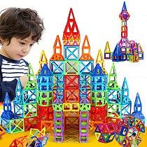 300pcs/set Mini Magnetic Blocks Building Educational Construction Toy Set Models & DIY Building Toy ABS Magnet Designer Kid Gift