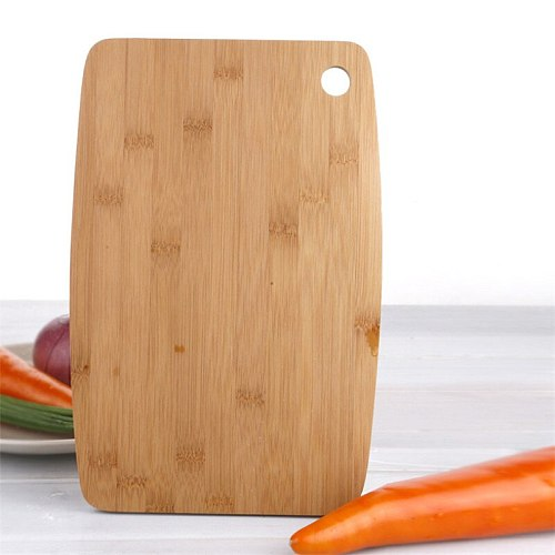 Hangable Cutting Board Covenient Multi-functional Natural Healthy Bamboo Durable Chopping Board for Restaurant Home Kitchen Tool