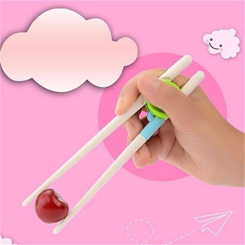 1Pair Children Learning Training Chopsticks Kids Baby Learning Training Chopsticks For Children Chinese Chopstick Learner Gifts