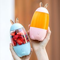 Portable Blender USB Mixer Electric Juicer Machine Smoothie Blender Mini Food Processor Personal Lemon Squeezer Orange Juicer