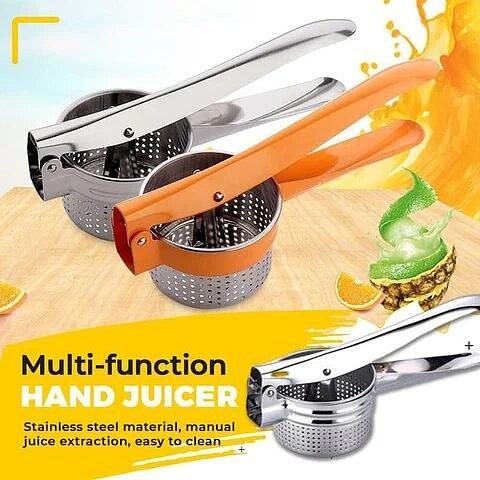 Manual Citrus Juicer Hand Orange Squeezer Lemon Fruit Juicer Citrus Press Machine Stainless Steel Kitchen Accessories For Home
