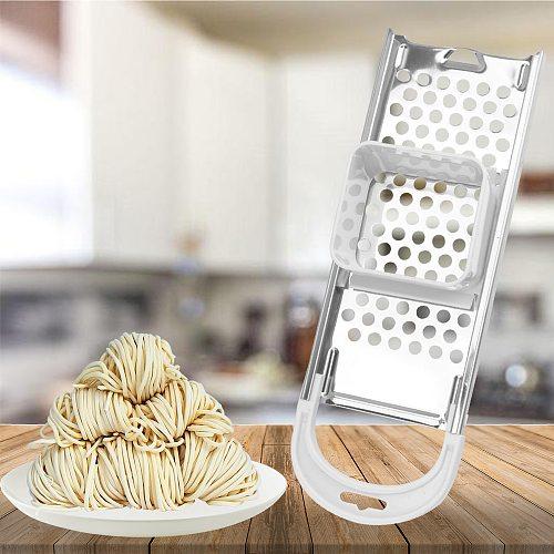 Pasta Cooking Tools Pasta Machine Manual Noodle Maker Kitchen Gadgets Kitchen Machine Stainless Steel Blades