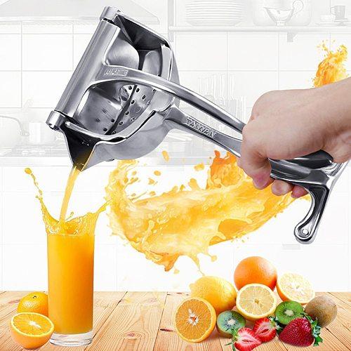 New Manual Juicer Squeezer Aluminum Alloy Hand Pressure Juice Pomegranate Orange Lemon Sugar Cane Kitchen Fruit Tool Easy To Use