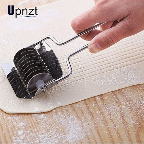 Stainless Steel Noodles Cutter Non-slip Handle Pasta Maker Tools Manual Shallot Section Cutter Kitchen Gadgets