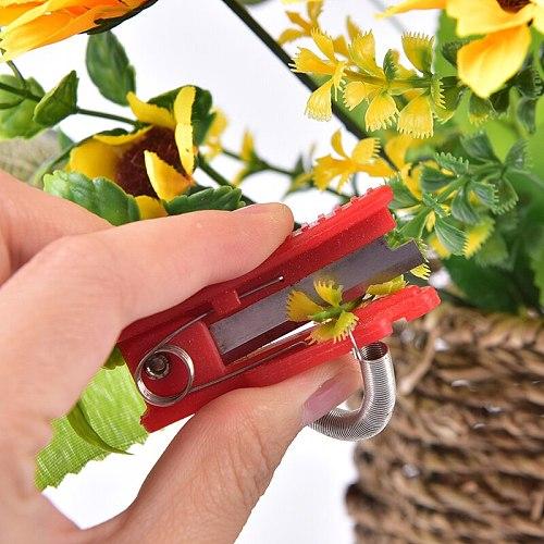1pc Multifunction Thumb Knife Garden Pruner Fruit Picking Device Safe Fruit Blade Tool Cutting Blade Rings Finger Protector